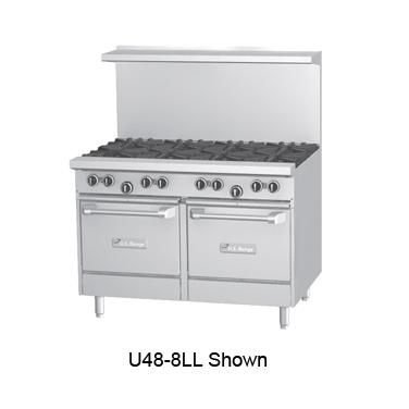 "Garland U48-8RS U Series 48"" Gas Restaurant Range with  32,0"