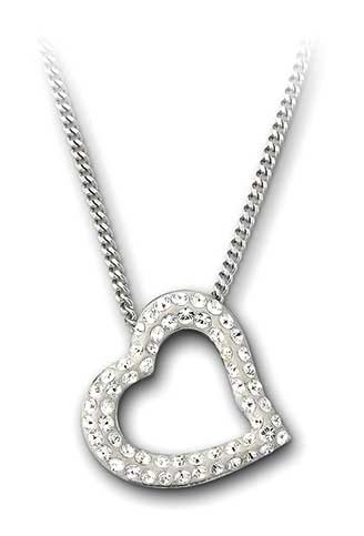 (Swarovski Mozart Heart Pendant Necklace 1071200)