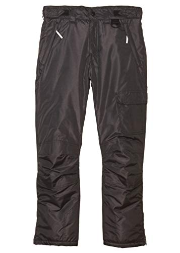 Arctic Quest Boys & Girls Water Resistant Insulated Ski Snow Pants, Heather Grey, 10/12