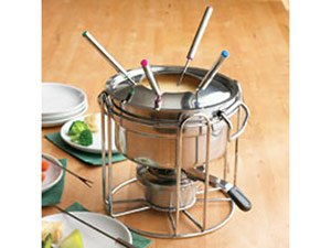 Casamoda Stainless Steel Buffet Fondue Set