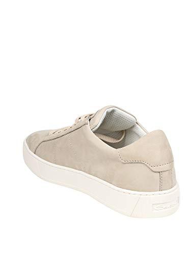 Uomo Pelle Santoni Sneakers Bianco Mbgl21012pnnxsooe50 wHw4Cq