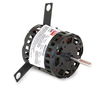 (Dayton 4M301 HVAC Motor, Shaded Pole, 1550 Nameplate RPM 115V, Frame 3.3, 1/15 hp)
