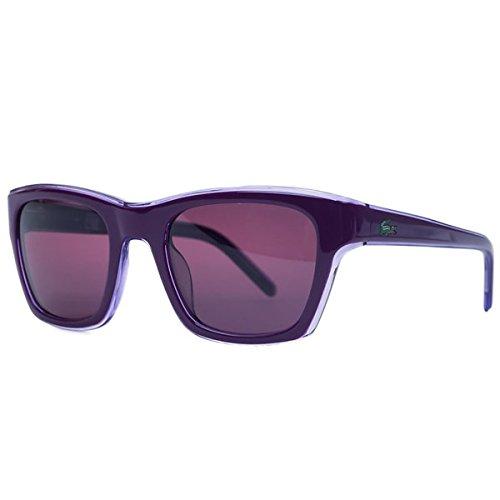 Lacoste Sadie Sunglasses L645 538 Wayfarer Classic Look Size 51 21 135mm ()