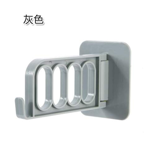 (GUANYAO foldable Key Decorative Hooks adhesive Hooks strong Door coat hanger Multi-function rack Creative storage Solid hooks )