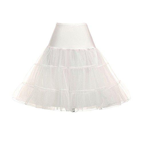 Jupe Jupons Femme Vintage Tulle Tutu Underskirt 50s Petticoat Beige Sfit 8tqwdTxUq