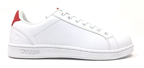 White Red Unisex Red Ginnastica da Scarpe 2 Sneakers Col Logo GALTER White Kappa Shoes qIR1Z