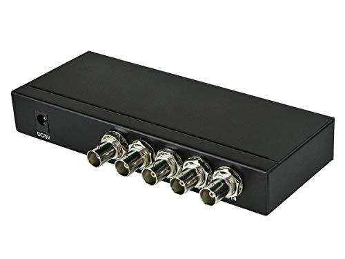 - Monoprice 3G SDI 1x4 Splitter - (110322)