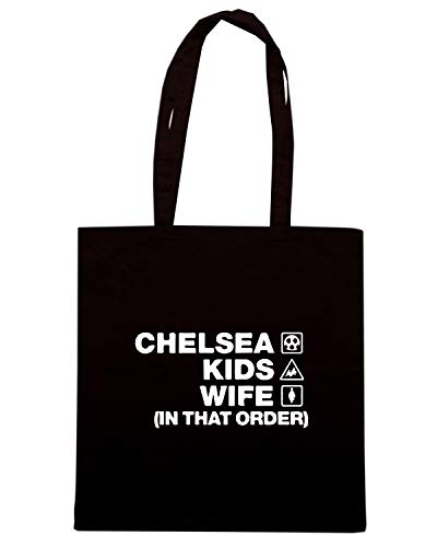 ORDER KIDS CHELSEA Borsa Speed Shopper Shirt DESIGN Nera WC1136 WIFE 16Bpy8wq