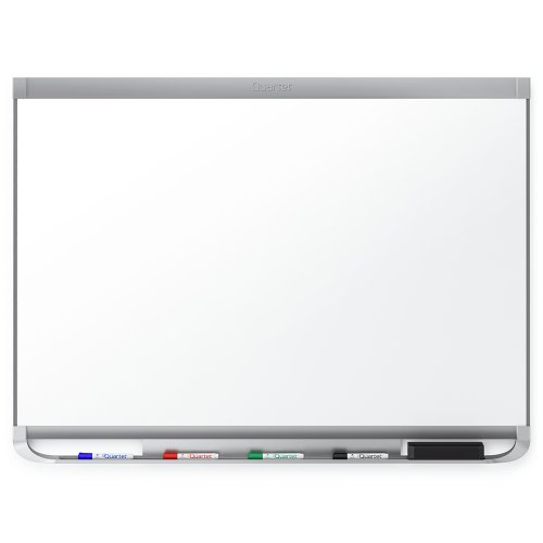 Quartet Prestige 2 DuraMax Porcelain Magnetic Whiteboard, 4 x 3 Feet, Graphite Finish Frame - Porcelain X 3 2