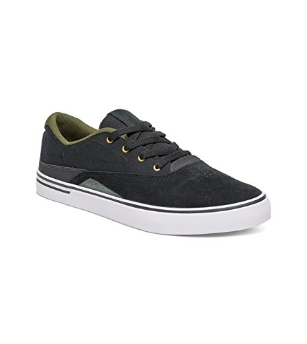 DC Mens Sultan S Low Top Shoe BLACK/FOREST PKRDK2phvO