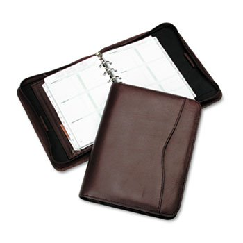 DTM82153 - Day-Timer Verona Leather Zip Closure Organizer Set by Day-Timer