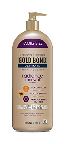 Gold Bond Ultimate Radiance Renewal for Visibly Dry Skin Lotion, 20 - Bond Powder Gold Ingredients