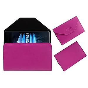 Acm Premium Flip Flap Case Compatible with Iqoo 7 Legend Mobile Pouch Leather Cover Pink
