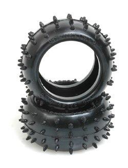 "Schumacher Racing ""Full Spike"" 2.2 1/10 Buggy Rear Tires (2) (Yellow)"