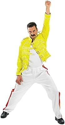 Fun Shack Amarillo Leyenda del Rock de los 80 Disfraz para Hombres ...