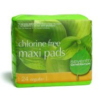 Seventh Generation Overnight Maxi Pads...