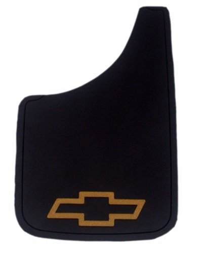 Chevy Gold Bowtie Easy Fit Mud Guard - Set of - Chevrolet Flaps Mud