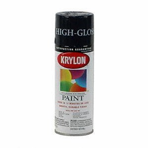 Krylon Interior/Exterior Spray Paint (12 Oz.)   Semi Gloss White Part 58