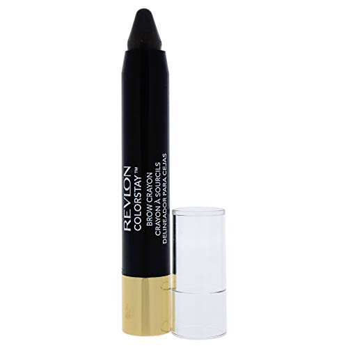 Revlon Colorstay Brow Crayon - 315 Dark Brown By Revlon for Women - 0.09 Oz Eyebrow, 0.09 Oz ()