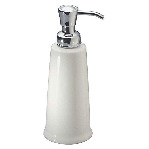 mDesign Ceramic Dispenser Bathroom Vanities