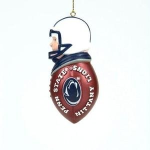 Penn State Nittany Lions White Player Christmas Tree Ornament - NCAA College Athletics
