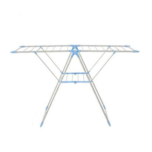 Winged Folding Clothes Airer Laundry Drying Rack Multifuncti