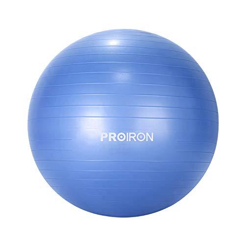 PROIRON Pelota de Pilates 75cm 65cm 55cm Fitball Pilates Pelota Embarazo con Patrón de Pose Grueso y Anti-explosión Incluidos Bomba a buen precio