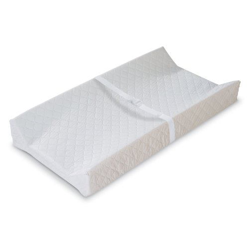 Bundle: Summer Infant Contoured Changing Pad & Summer Infant Ultra Plush Change Pad Cover, Sage & Safety 1st Heavenly Dreams White Crib Mattress