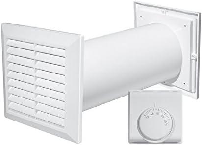 Turbina de distribución de aire caliente 4 en 1, con ventilador ...