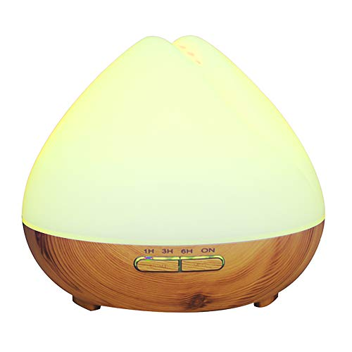 New Arrival Essential 7 Color Changing Light Diffuser/Ultrasonic LED Portable Perfume Aroma Diffuser 400 ml Air Humidifier