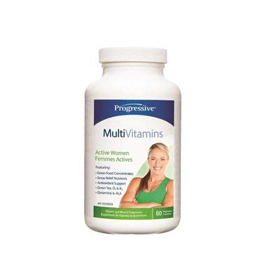 Progressive MultiVitamins for Active Women 60s