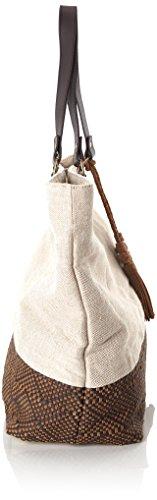 Timberland Tb0m5767, Borsa a Spalla Donna, 17x39x42 cm Marrone (Chocolate Brown)