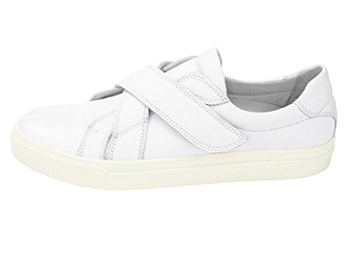 Werner Marken-Leder-Sneaker, weiß Gr. 41