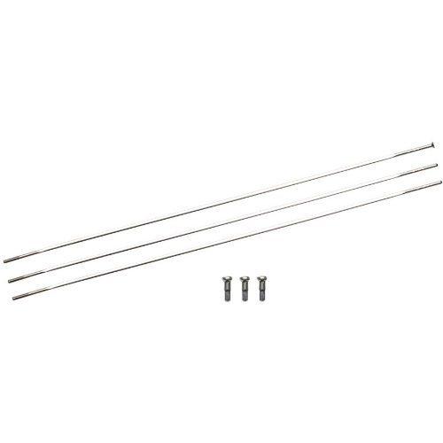 Zipp Straight Pull Spoke 3 Pack 808 Non-Drive 224mm by Zipp Speed Weaponry ()