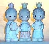 "Precious Moments ""Wee Three Kings"" Nativity Figurines"