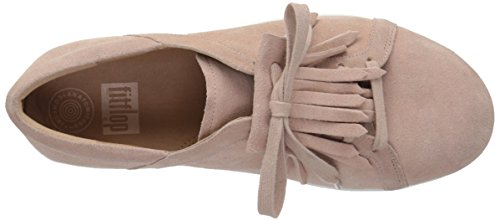 Fitflop Dusky Iridescent Gold Leather Trainers II™ Fringe Sporty Pink F Ladies qABTw
