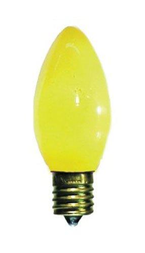 5 Watt C9 Yellow Ceramic Replacement Bulb