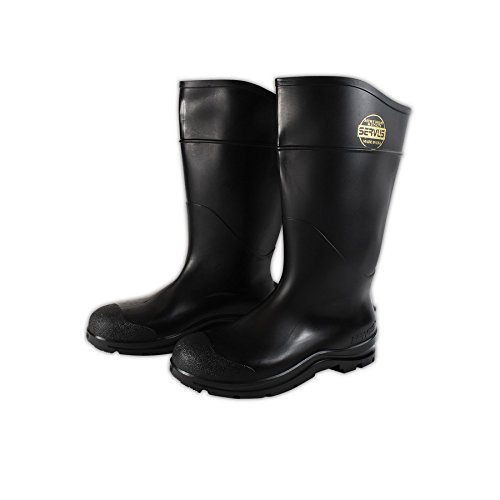 Servus 18821-BLM-070 CT Economy Safety Hi Boot, 14, Black, 7
