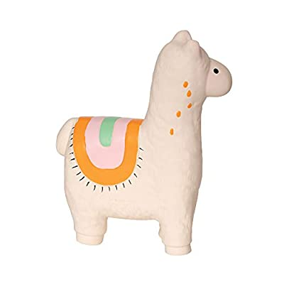Manhattan Toy Fruity Paws Lili Llama 100% Natural Rubber Baby Teether Toy: Toys & Games