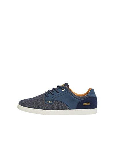 Pantofola dOro Herren Comacchio Canvas Uomo Low Sneaker, Blau (Dress Blues), 41 EU