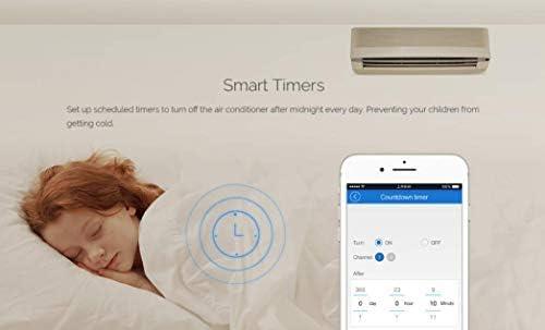 commutateur sans Fil WiFi et la consommation d/énergie des compteurs voyants de contr/ôle et appareils /électriques RPS POW compatibles avec  et Alexa Accueil Google