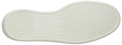Mujer Zapatillas Marrón Cashmere para White Soft Ecco 4 qvaxwCfTI