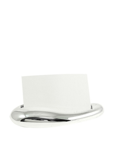 Silver-Plated Business Card Holder