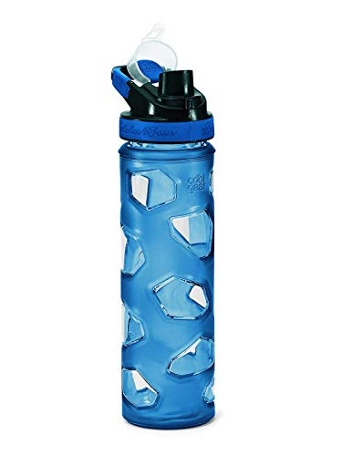 (Eddie Bauer Unisex-Adult Rocktagon 22 oz Bottle, Ascent Blue Regular ONESZE)