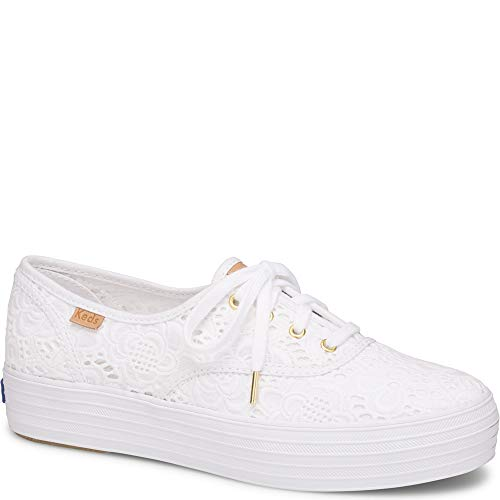 Keds Triple Embroidered Crochet