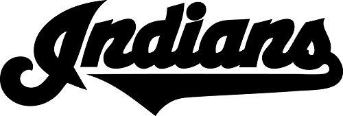 Cleveland Indians Window - Cleveland Indians Vinyl Decal