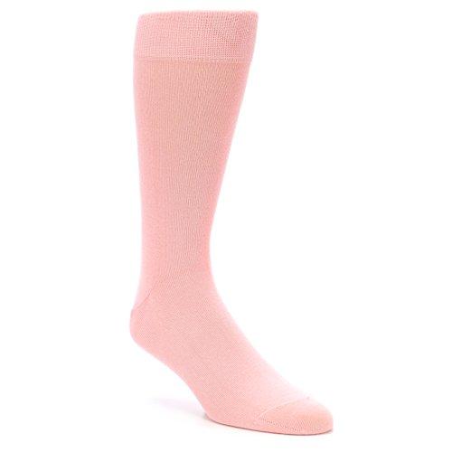 Boldsocks Blossom Pink Solid Color Men's Dress (Blossom Socks)