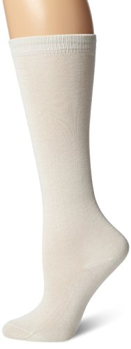 Terramar Adult Thermasilk Mid Calf Sock Liner (X-Large, Natural)