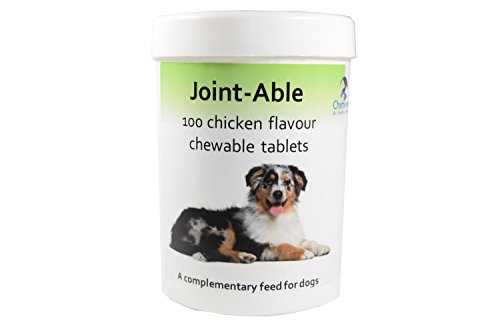 100 Dog Joint Health Tablet Pack – Chicken Flavoured – Glucosamine,Chondroitin MSM,Green Lipped Mussel,Turmeric,Vitamin…