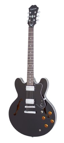Epiphone DOT ES Style Semi-Hollowbody Electric Guitar, Ebony